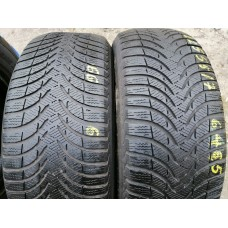 Michelin Alpin a4 225/55 R17 шины бу зима