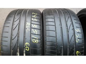 245/35R18 Bridgestone Potenza Re050a RSC летние шины бу