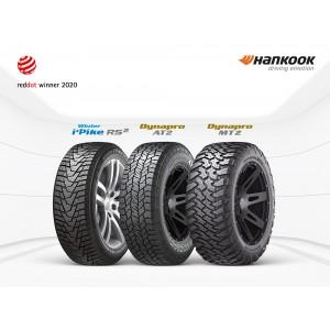 Hankook Tire признан победителем премии Red Dot Award 2020 за несколько продуктов