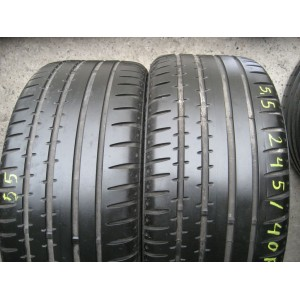 Continental SportContact2 245/40 R17 91W лето 2 штуки